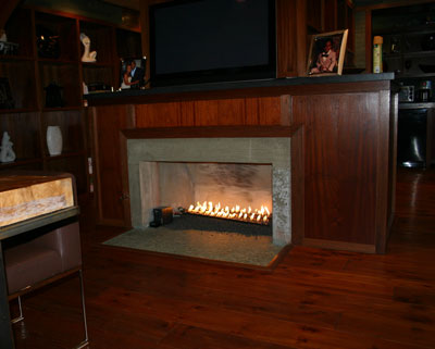 nick cannon fireplace 4