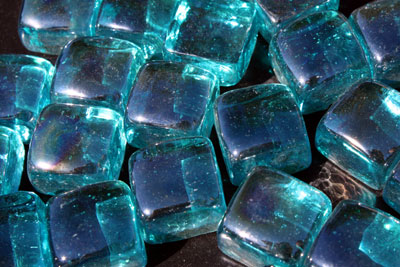 perwinkle glass cubes 1